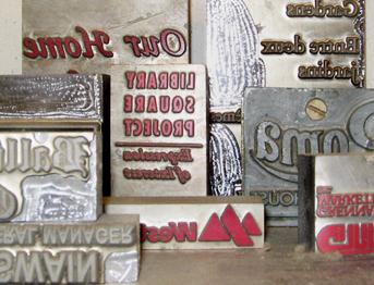 Logos for foil stamping
